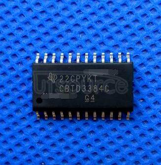 SN74CBTD3384CDW Bus Switch 5 x 1:1 24-SOIC