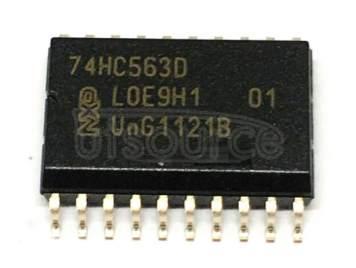74HC563D