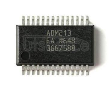 ADM213 +5 V Powered CMOS RS-232 Drivers/ReceiversCMOS RS-232/