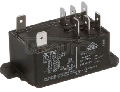 T92P11A22-240 2  pole  30 A, 2 CO or 2 NO  contacts