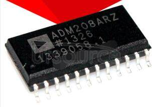 ADM208ARZ 0.1   μF,  5 V  Powered   CMOS   RS-232   Drivers/Receivers