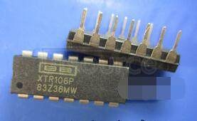 XTR106P A/D Converter A-D IC<br/> Resolution Bits:16<br/> Sample Rate:100SPS<br/> Input Channels Per ADC:1<br/> Input Channel Type:Differential<br/> Data Interface:Serial<br/> Package/Case:8-SOIC<br/> Leaded Process Compatible:No<br/> No. of Bits:18 RoHS Compliant: Yes