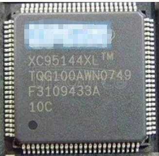 XC95144-10TQ100C