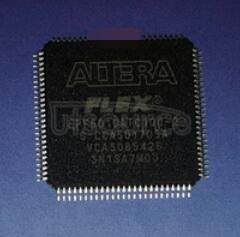 EPF6010ATC100-2 FLEX 6000 Programmable Logic Device Family<br/> 100 pin TQFP<br/> 0 to 85&#176<br/>C