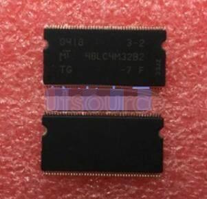 MT48LC4M32B2TG-7F