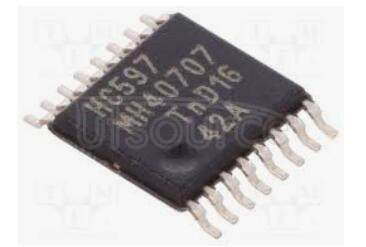 74HC597PW,112 IC 8BIT SHIFT REGISTER 16TSSOP