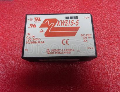 KWS15-5 Single output 5W ~ 15W AC-DC on-board type power supply