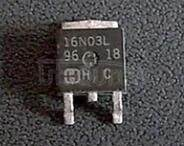 RFD16N03 16A, 30V, Avalanche Rated N-Channel Logic Level Enhancement-Mode Power MOSFETs