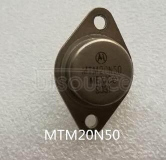 MTM20N50 POWER   FIELD   EFFECT   TRANSISTOR