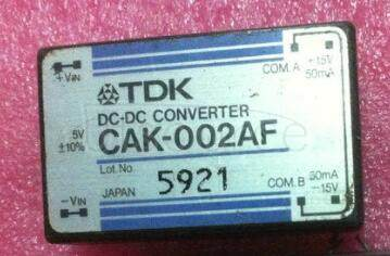 CAK-002AF TDK DC to DC Converters, DC to AC inverters