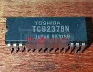 TC9237 MODULATION SYSTEM DA CONVERTER WITH BUILT IN DIGITAL FILTER