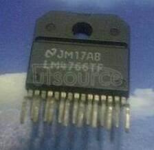 LM4766TF/NOPB