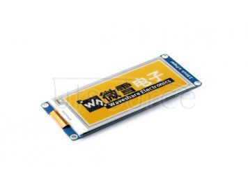 296x128, 2.9inch E-Ink display module, yellow/black/white three-color