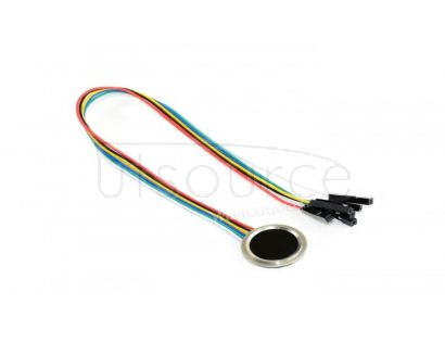 Round-shaped All-in-one UART Capacitive Fingerprint Sensor