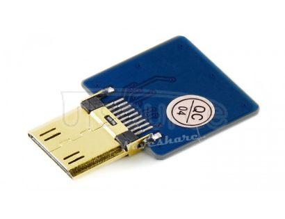 DIY HDMI Cable: Straight Mini HDMI Plug Adapter