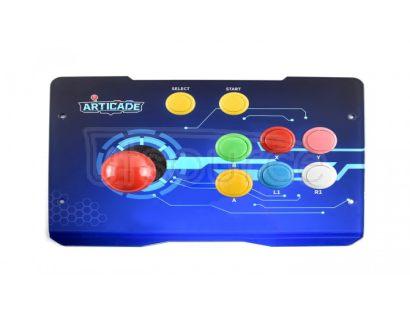 Arcade-C-1P, Arcade Console Powered by Raspberry Pi