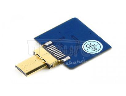 DIY HDMI Cable: Straight Micro HDMI Plug Adapter