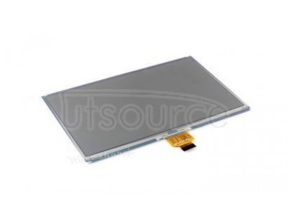 800×480, 7.5inch E-Ink raw display, three-color