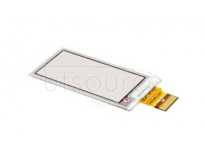 212x104, 2.13inch E-Ink raw display panel, three-color