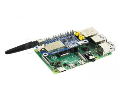 SX1262 LoRa HAT for Raspberry Pi, 868MHz Frequency Band, for Europe, Asia, Africa