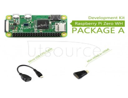 Raspberry Pi Zero WH Package A, Basic Development Kit