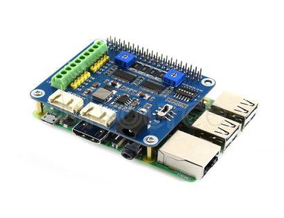 Stepper Motor HAT for Raspberry Pi, Drives Two Stepper Motors