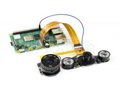 Raspberry Pi Camera Scheduler, One Cable for Two Cameras