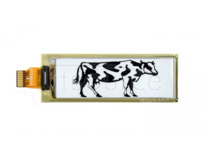 296×128, 2.9inch flexible E-Ink raw display panel