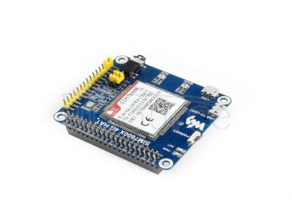 4G / 3G / 2G / GSM / GPRS / GNSS HAT for Raspberry Pi, LTE CAT4, for Southeast Asia, West Asia, Europe, Africa