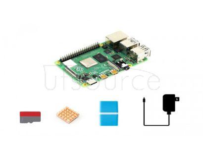 Raspberry Pi 4 Model B Starter Kit, Essential Parts