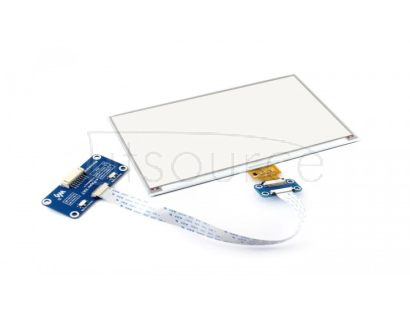 800×480, 7.5inch E-Ink display HAT for Raspberry Pi, three-color