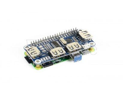 4 Port USB HUB HAT for Raspberry Pi