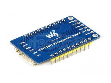 MCP23017 IO Expansion Board, Expands 16 I/O Pins