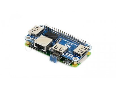 Ethernet / USB HUB HAT for Raspberry Pi, 1x RJ45, 3x USB