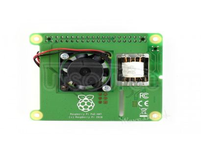 Power over Ethernet HAT for Raspberry Pi 3B+/4B and 802.3af PoE network
