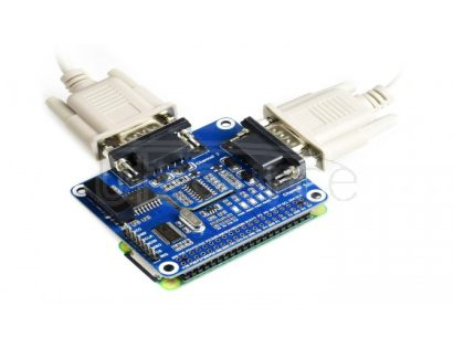 2-Channel Isolated RS232 Expansion HAT for Raspberry Pi