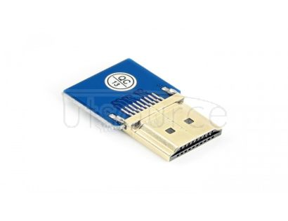 DIY HDMI Cable: Straight HDMI Plug Adapter