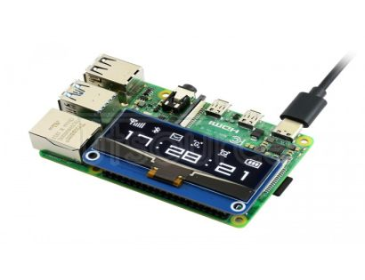 128×32, 2.23inch OLED display HAT for Raspberry Pi