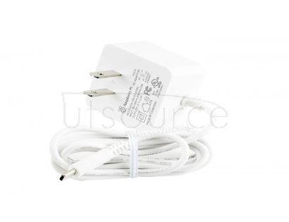 Official USB-C Power Supply for Raspberry Pi 4, US, White/Black