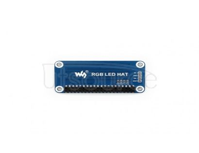 True color RGB LED HAT for Raspberry Pi, colorful display
