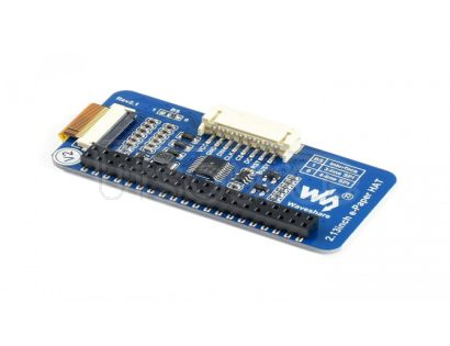 212x104, 2.13inch E-Ink display HAT for Raspberry Pi, yellow/black/white three-color