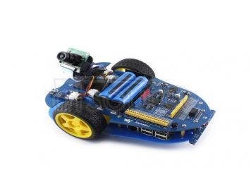 AlphaBot, Raspberry Pi robot building kit, includes Pi 3 Model B+