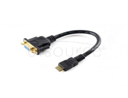 Mini HDMI to VGA Cable