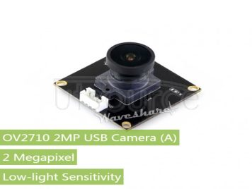 OV2710 2MP USB Camera (A), Low-light Sensitivity