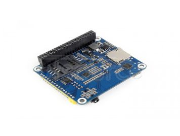 4G / 3G / 2G / GSM / GPRS / GNSS HAT for Raspberry Pi, LTE CAT4, the Global Version