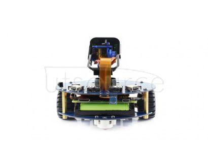 AlphaBot2 robot building kit for Raspberry Pi Zero WH (built-in WiFi, pre-soldered headers)