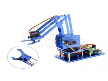 4-DOF Metal Robot Arm Kit for Raspberry Pi, Bluetooth / WiFi