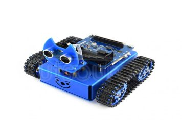 KitiBot tracked robot building kit for micro:bit (no micro:bit)