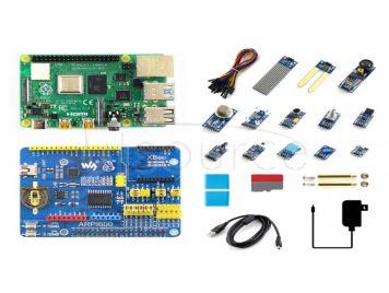 Raspberry Pi 4 Model B Sensor Kit, with 13x Popular Sensors