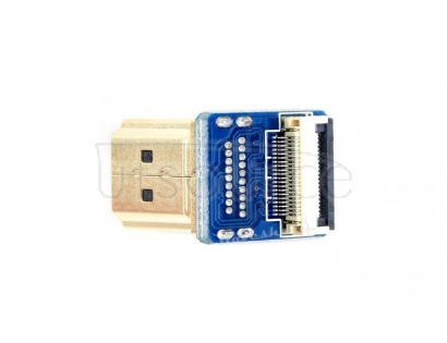 DIY HDMI Cable: Right-angle HDMI Plug Adapter
